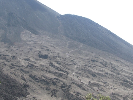 The volcano that nearly killed me.