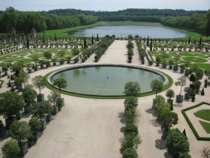Wandered through the grounds of Versailles.
