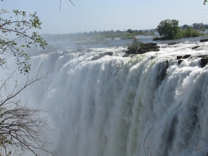 Visited Victoria Falls in Zambia.