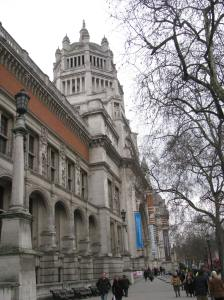 Don't fret, just a little further is the Victoria and Albert museum. All my plans are not ruined.