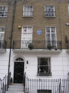 Stephane Mallarme, a poet, stayed here in 1863.