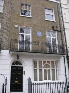 E. F. Benson, a writer lived here.