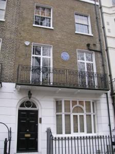 E. F. Benson, a writer lived here.
