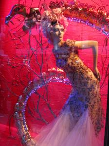 One of the Harrod's window displays.