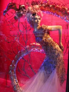 One of the Harrod's window displays.