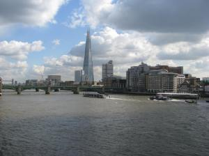 It seems that I keep noticing the Shard now. Months ago I had never heard of it.