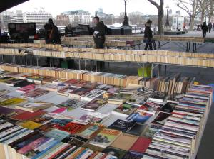 A lot of books. I resisted yet again and didn't buy any. It helped that I didn't have any cash.