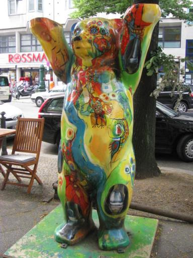 I loved finding these statues during our time in Berlin last summer. Each one was different.
