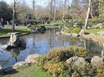 Japanese Gardens in Holland Park