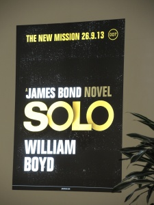 I hope this isn't the actual cover of Solo. It just seems like they could have done more with the two OOs.