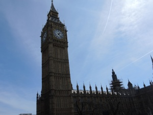 Big Ben. I'm getting tired already and am settling for a lackluster shot. Not a good sign.