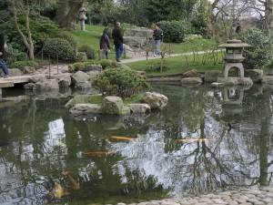 Took a little breather in the Japanese Garden in Holland Park.