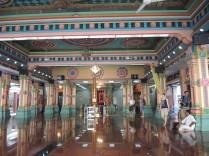 Inside a Hindu Temple.