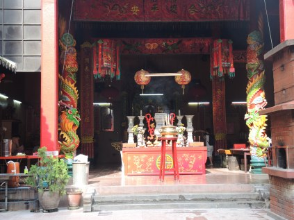 Inside a Buddhist Temple