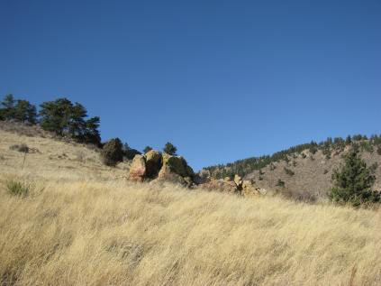 Horsetooth Park outside of Fort Collins, Colorado.