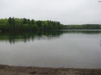 Walden Pond in Massachusetts