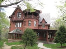 Mark Twain House in Hartford, Connecticut