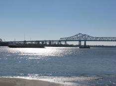 Mississippi River near New Orleans.