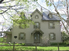 Harriet Beecher Stowe House in Hartford, Connecticut