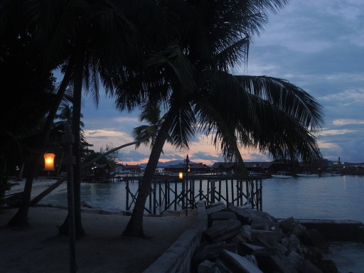 The past two days have not gone according to plan and have been hectic. I wish I could sit here this evening, with a beer, and order my thoughts and relax. Photo taken on Mabul Island, Malaysia.