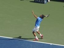 The tennis legend (Roger Federer)