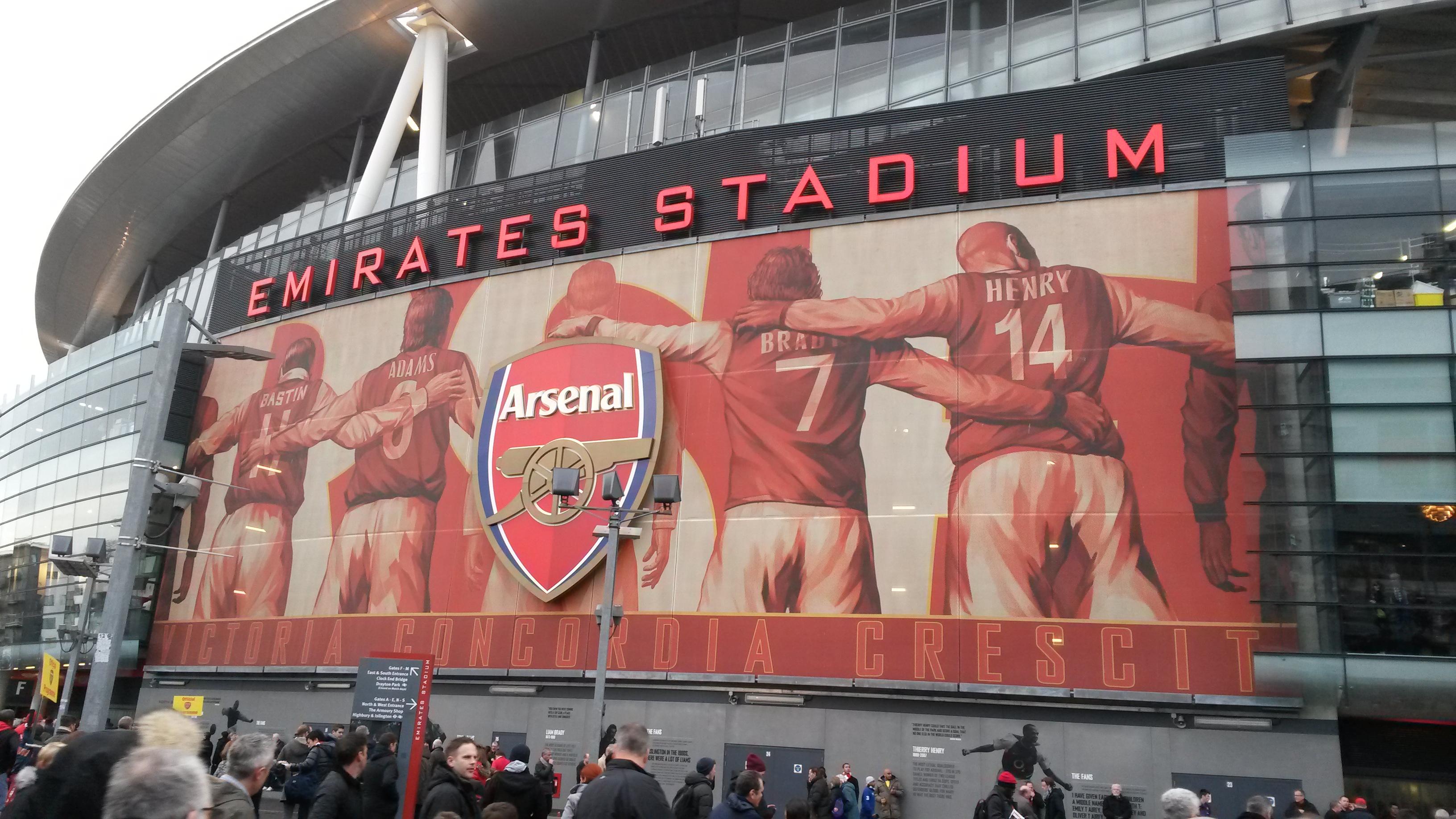 Visiting Emirates Stadium