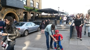 Not every pub has its own superhero!