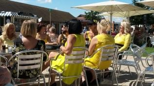 Dang, I forgot to wear yellow